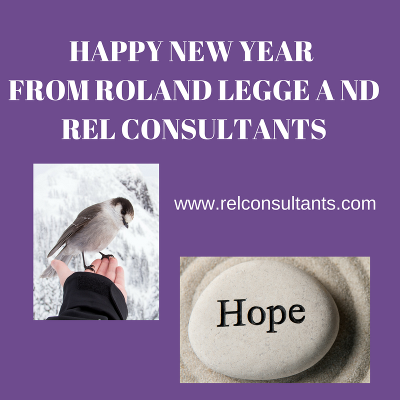 Happy New Year from Roland Legge