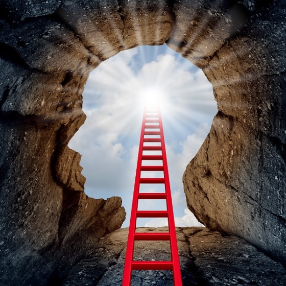 mind, head, red ladder looking at sunny sky.jpg